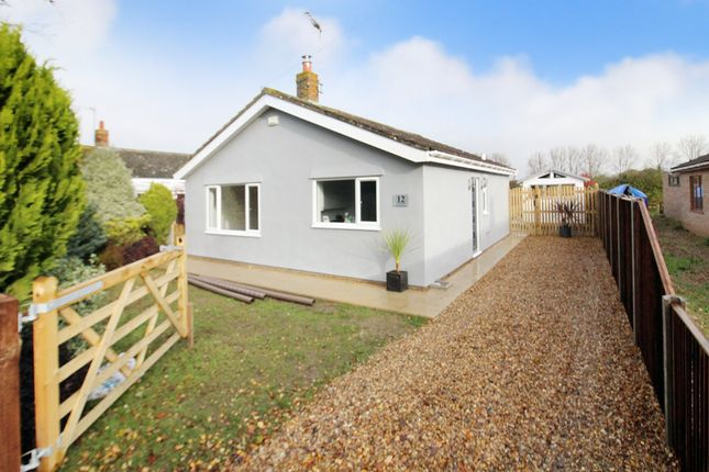 Thumbnail Detached bungalow for sale in Grove Road, Repps With Bastwick, Great Yarmouth
