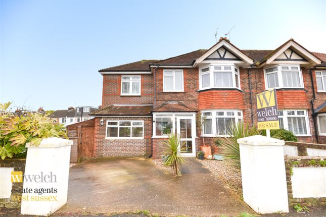 Thumbnail Semi-detached house for sale in George V Avenue, Goring By Sea, West Sussex