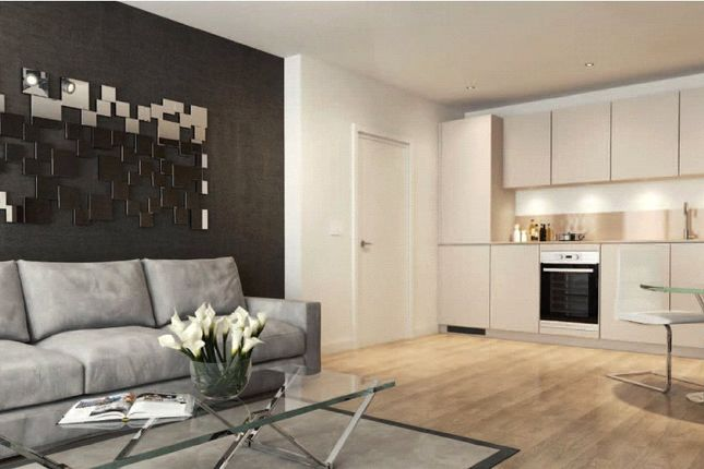 Thumbnail Flat for sale in Stratford Central, Stratford City, London
