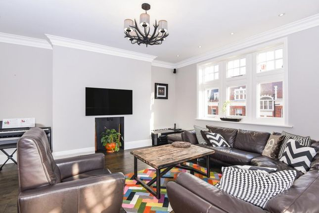 Thumbnail Flat for sale in Marlborough Mansions, Cannon Hill, West Hampstead