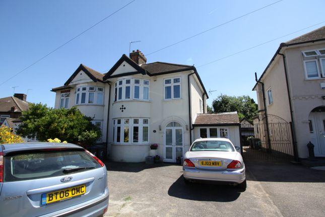 Thumbnail Semi-detached house for sale in Kilvinton Drive, Enfield