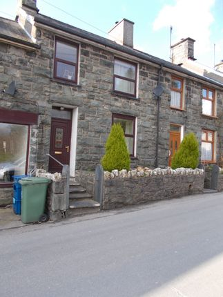 Thumbnail Terraced house for sale in 6 Fronwnion, Trawsfynydd