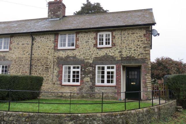 Thumbnail Semi-detached house to rent in Minterne Parva, Dorchester, Dorset