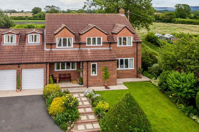 Thumbnail Detached house for sale in West Rounton, Northallerton, North Yorkshire