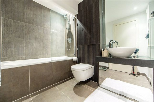 Bathroom of Pissarro House, Augustas Lane, Barnsbury Place, Islington, London N1