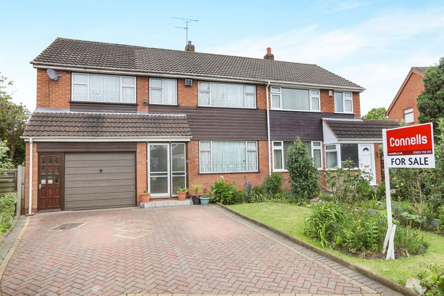 Thumbnail Semi-detached house for sale in The Fold, Penn, Wolverhampton