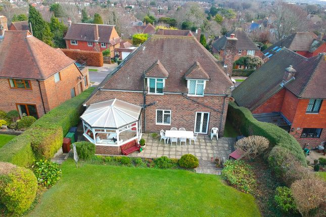 Thumbnail Detached House For Sale In Melvill Lane Eastbourne
