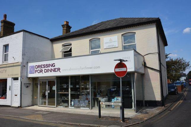 Thumbnail Land for sale in Bridge Street, Walton-On-Thames