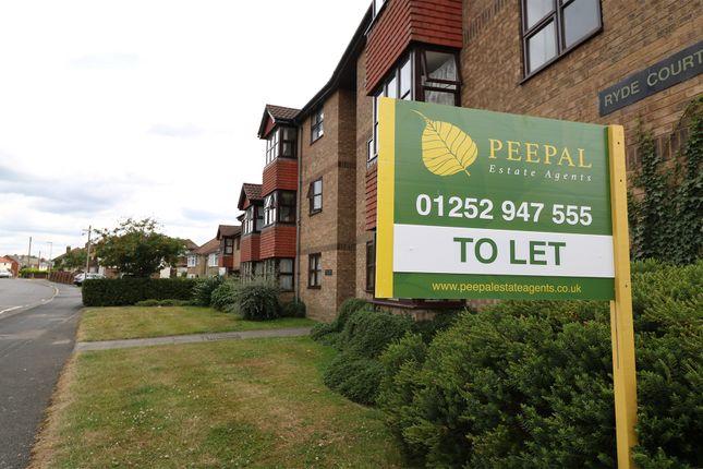 Thumbnail Flat to rent in Newport Road, Aldershot