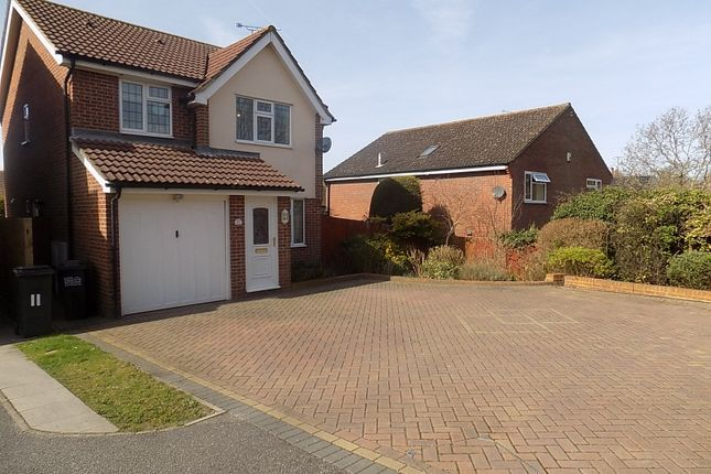 Thumbnail Detached house for sale in Grasmere Close, Eastbourne