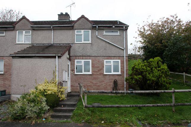 Thumbnail Terraced house to rent in Monksmead, Tavistock