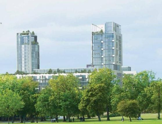Thumbnail Flat for sale in Rectangular Building, City North, Finsbury Park, London