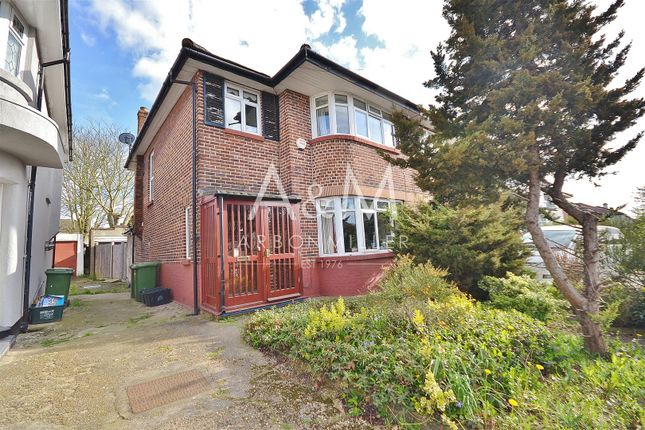Thumbnail Semi-detached house for sale in Herent Drive, Clayhall, Ilford