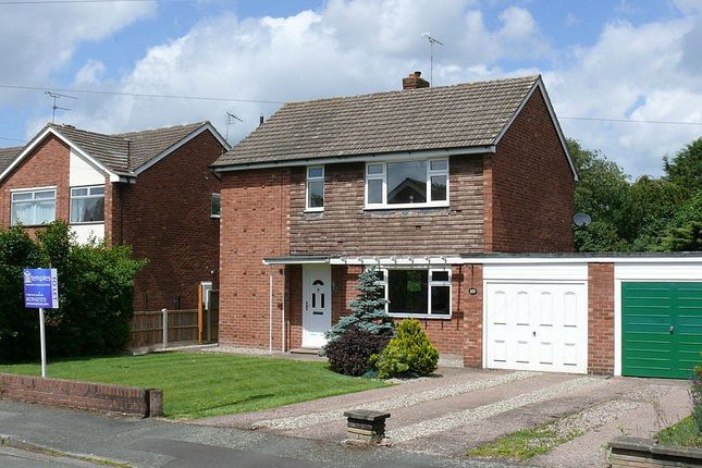 Thumbnail Detached house to rent in Pine Walk, Nantwich