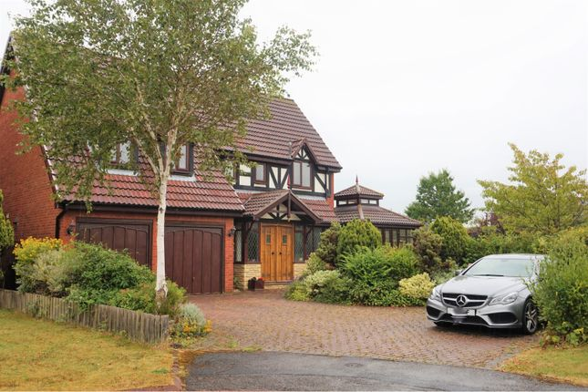 Thumbnail Detached house for sale in The Swallows, Wallsend