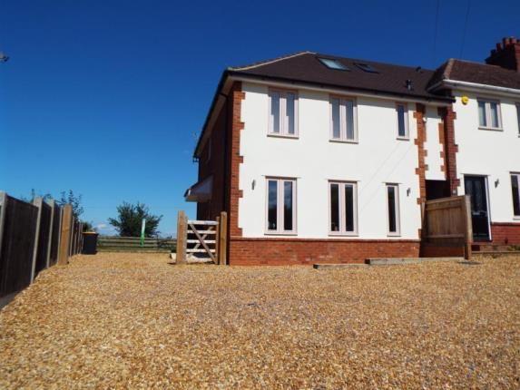 Thumbnail End terrace house for sale in Park Road, Stevington, Bedford, Bedfordshire