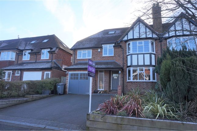 Thumbnail Semi-detached house for sale in Witley Avenue, Solihull