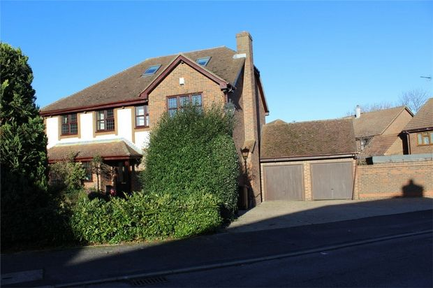 Thumbnail Detached house for sale in Heritage Drive, Darland View, Gillingham, Kent