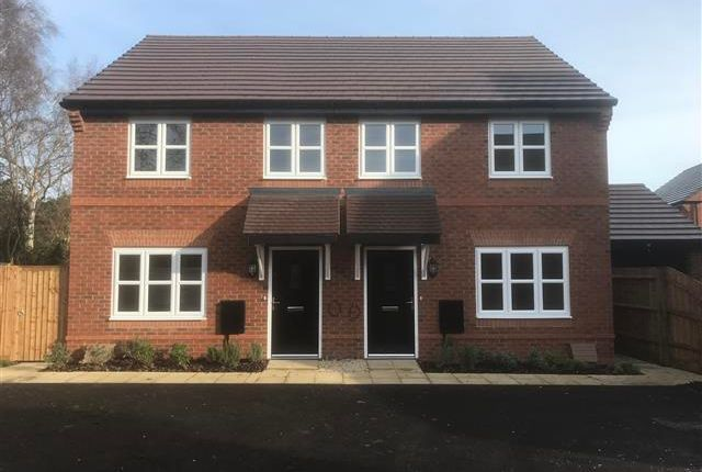 Thumbnail Semi-detached house to rent in Lennon Way, Stoke Mandeville, Aylesbury