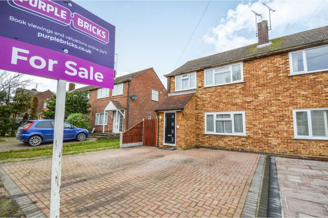 Thumbnail Semi-detached house for sale in Woodland Avenue, Brentwood