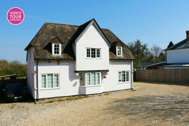 Thumbnail Detached house for sale in Newbury Road, Headley, Thatcham