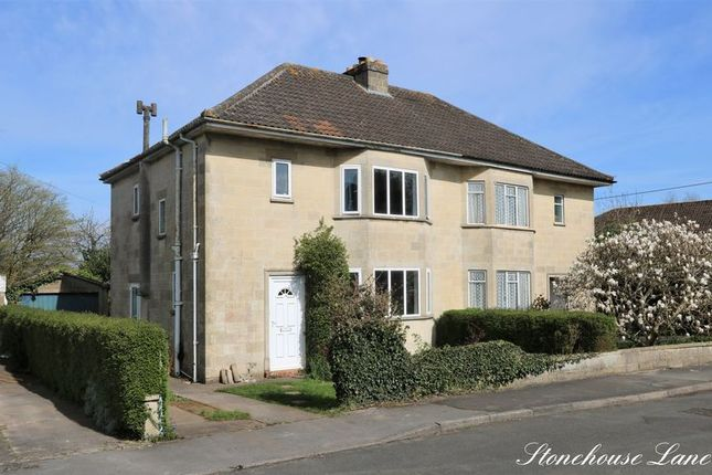 Thumbnail Semi-detached house for sale in Stonehouse Lane, Combe Down, Bath