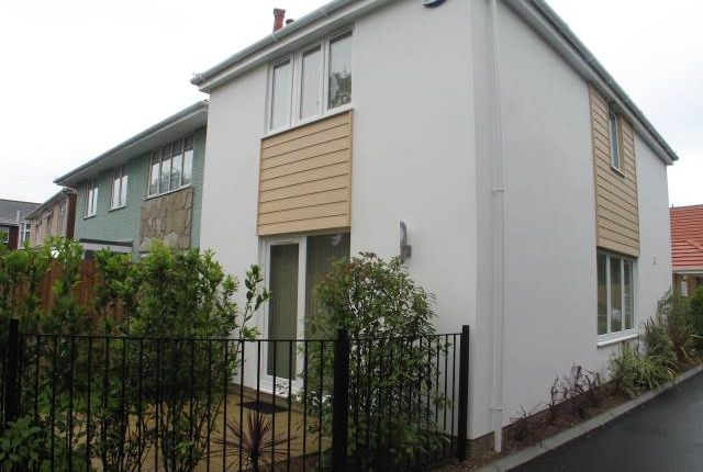 Thumbnail Detached house to rent in Wimborne Road, Oakdale, Poole