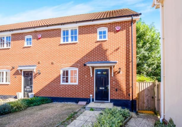 3 bed end terrace house for sale in Halesworth, Suffolk