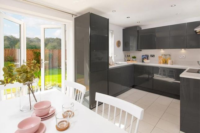 "Thumbnail Semi-detached house for sale in ""Moresby"" at Glebe Road, Loughor, Swansea"