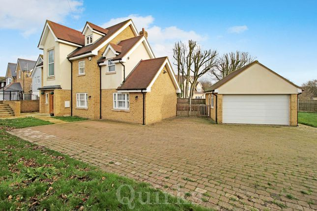 Thumbnail Detached house for sale in Norsey Road, Billericay