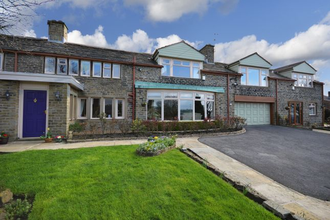 Thumbnail Detached house for sale in Wilberlee, Slaithwaite, Huddersfield, West Yorkshire