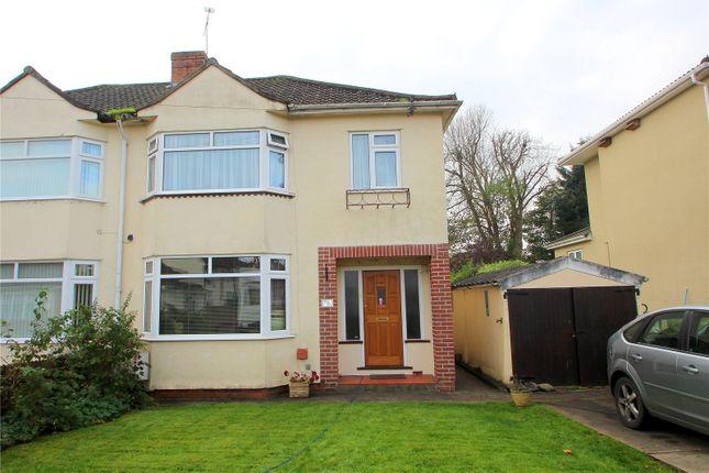 Thumbnail Semi-detached house for sale in Fairway, Brislington, Bristol