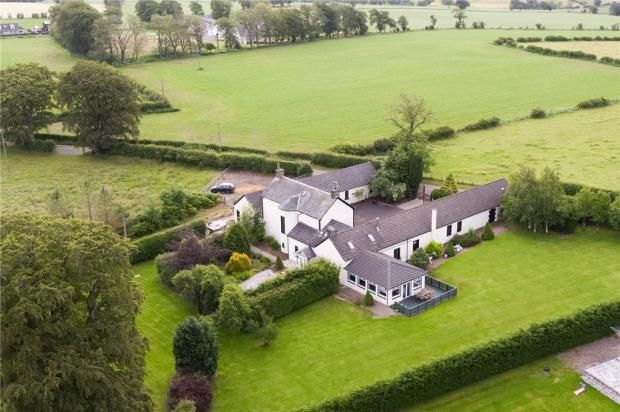 Thumbnail Detached house for sale in Newton Farm, Strathaven, South Lanarkshire