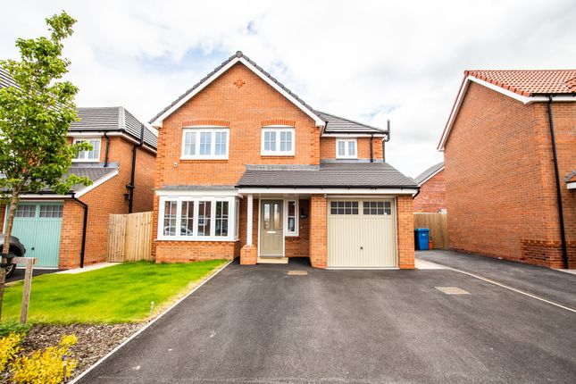 Thumbnail Detached house for sale in Llys Walsh, Rhyl