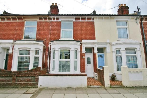 Thumbnail Terraced house to rent in Suffolk Road, Southsea