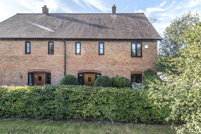 Thumbnail Semi-detached house for sale in Byfleet, Surrey