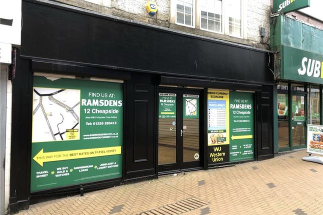 Thumbnail Commercial property to let in 8-10 Market Street, Barnsley