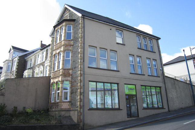 Thumbnail End terrace house for sale in Cardiff Road, Bargoed