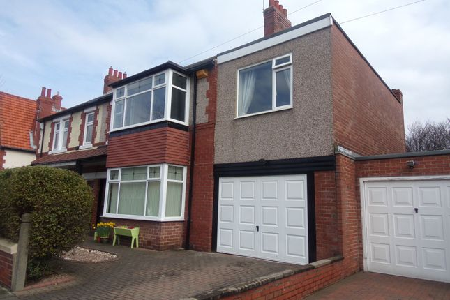 Thumbnail Semi-detached house for sale in Ridley Avenue, Blyth