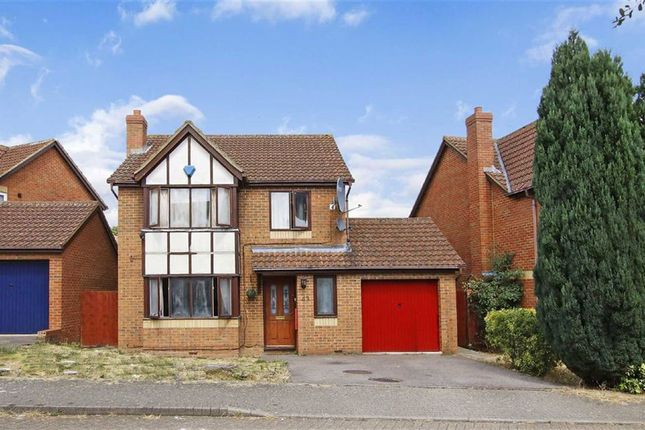 Thumbnail Detached house for sale in Braford Gardens, Shenley Brook End, Milton Keynes, Bucks