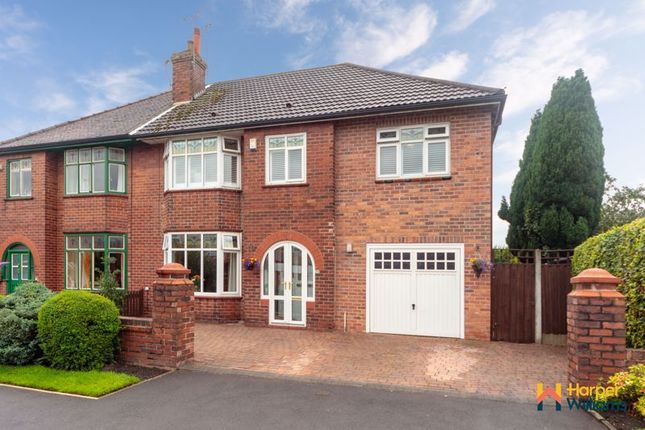 Thumbnail Semi-detached house for sale in Chestnut Drive, Leigh