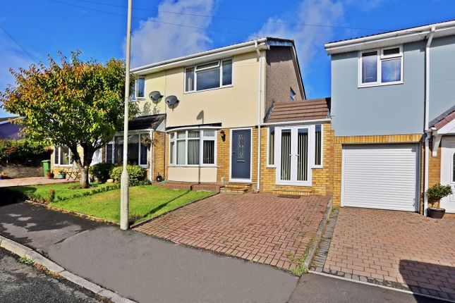 Thumbnail Semi-detached house for sale in St Andrews Road, Penycoedcae, Pontypridd