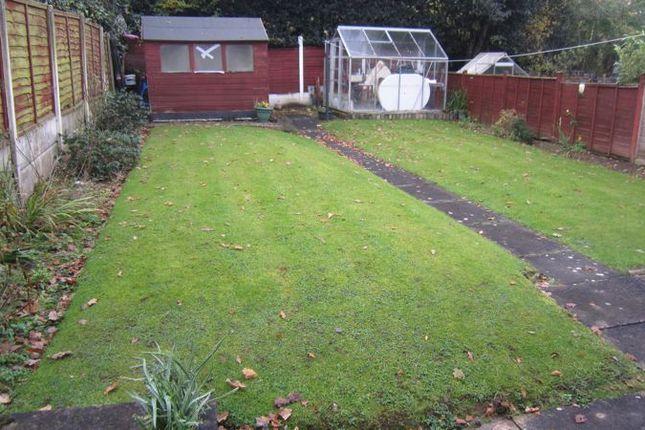 Rear Garden of Carding Close, Mount Nod, Coventry CV5