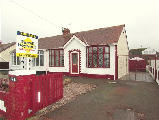 Thumbnail Bungalow for sale in Cumberland Avenue, Thornton Cleveleys