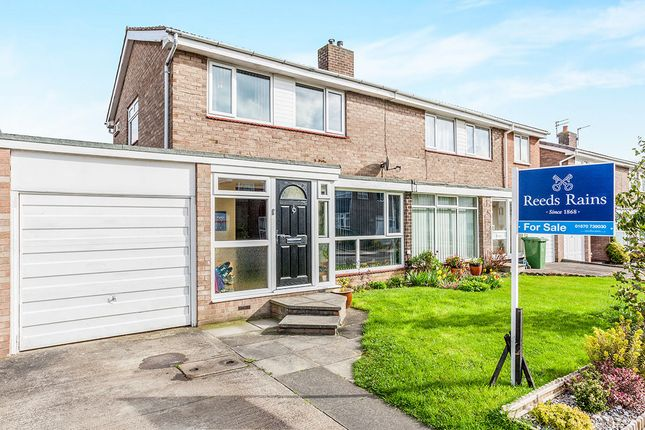 Thumbnail Semi-detached house for sale in Wishaw Close, Cramlington