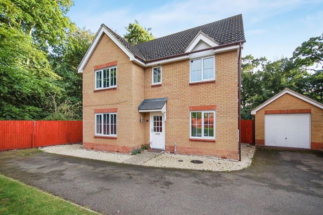 Thumbnail Detached house for sale in Benet Close, Thetford