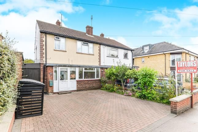 Thumbnail Semi-detached house for sale in Grove Road, Hitchin, Hertfordshire, England