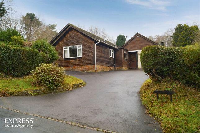 Thumbnail Detached bungalow for sale in School Lane, St Johns, Crowborough, East Sussex
