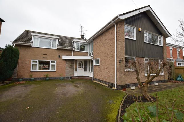 Thumbnail Detached house for sale in Granville Road, Wigston