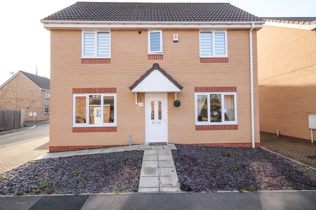Thumbnail Detached house for sale in Lime Avenue, Auckley, Doncaster